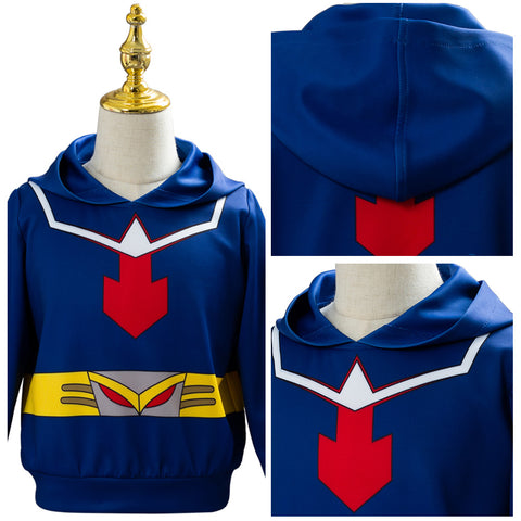 HEROS RISING Midoriya Izuku deku My/Boku no Hero Academia Hoodie Cosplay Costume For Kids Children