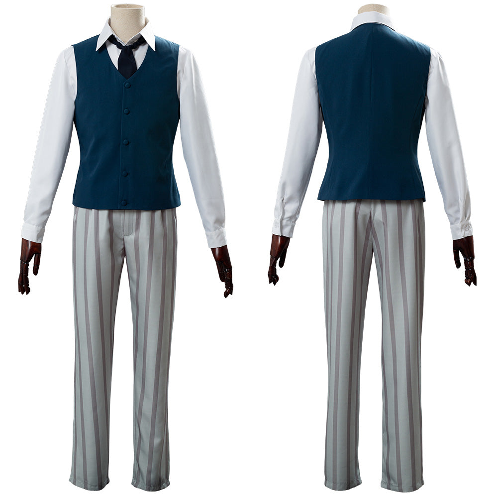 Legosi Louis Cherryton High School Boys Beastars Uniform Cosplay Costume