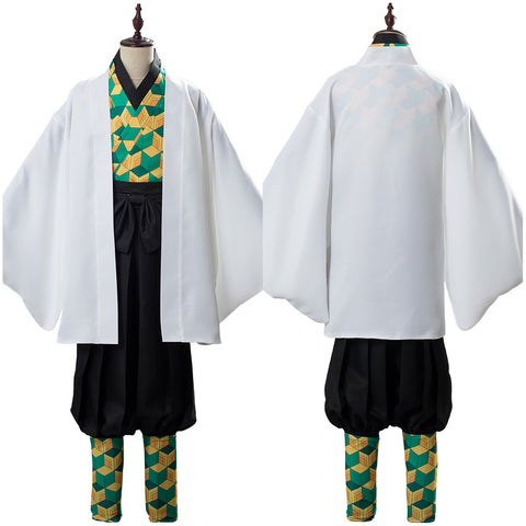 Sabito Demon Slayer: Kimetsu no Yaiba Uniform Cosplay Costume