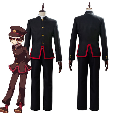 Jibaku Shounen Toilet-Bound Hanako-kun Uniform Cosplay Costume