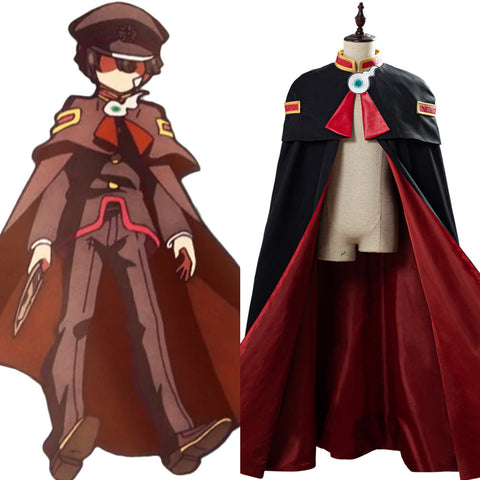 Toilet-Bound Hanako-kun Cloak Coat Cape Robe Hanako-kun Cosplay Costume