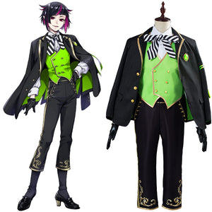 Twisted Wonderland Uniform Outfit Lilia Vanrouge Cosplay Costume Halloween Carnival Costume for Adult