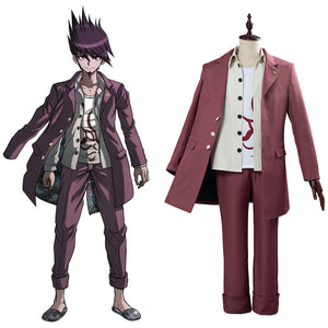 Danganronpa V3 Halloween Carnival Costume Momota Kaito College School Uniform Outfit Cosplay Costume