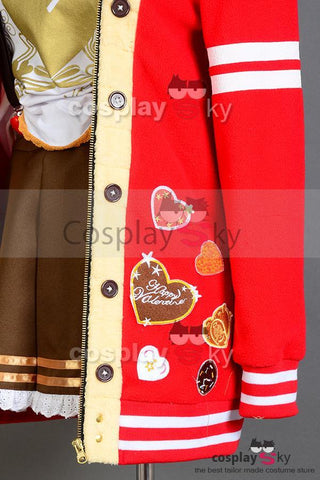 LoveLive! Valentine's Day Umi Sonoda Uniform Cosplay Costume