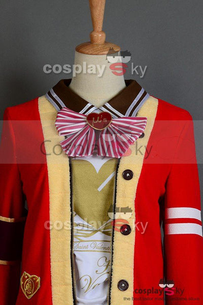 LoveLive! Valentine's Day Eli Ayase Uniform Cosplay Costume