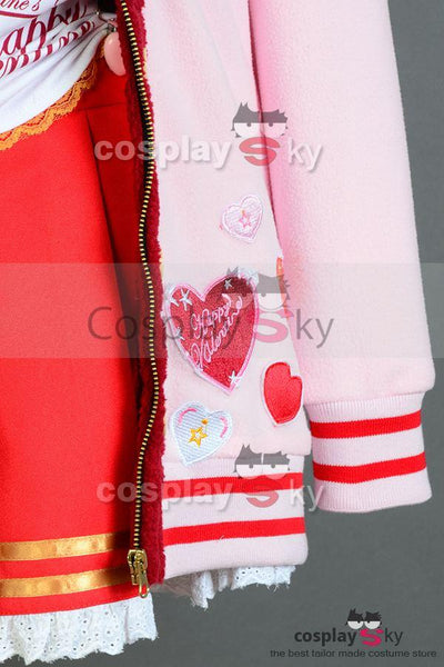 LoveLive! Valentine's Day Honoka K?saka Uniform Cosplay Costume
