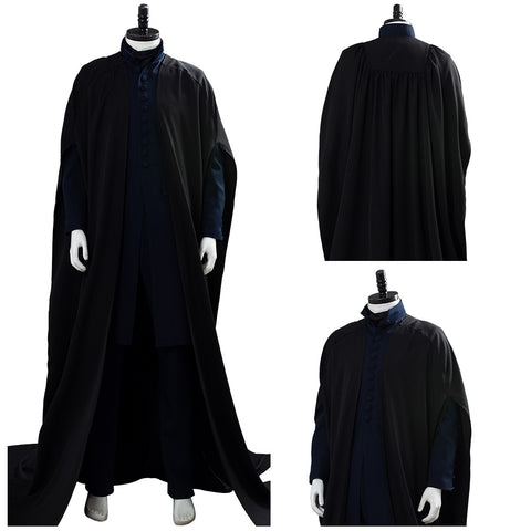 Harry Potter Severus Snape Cloak Cosplay Costume