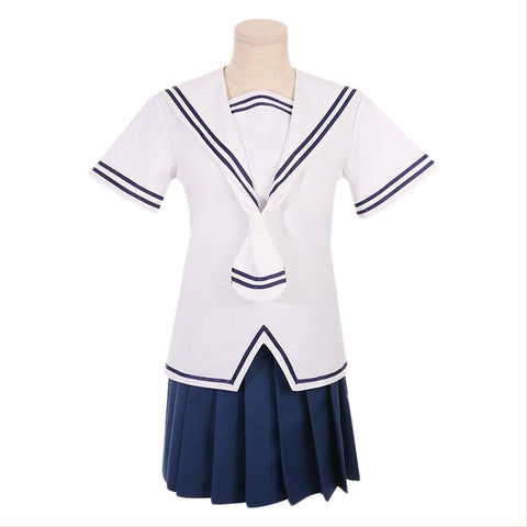 Anime Fruits Basket Tohru Honda Cosplay Costume Summer School Uniform Girls Sailor Uniform