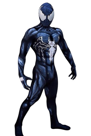 Venom Symbiote Cosplay Costume Adults Halloween Suit