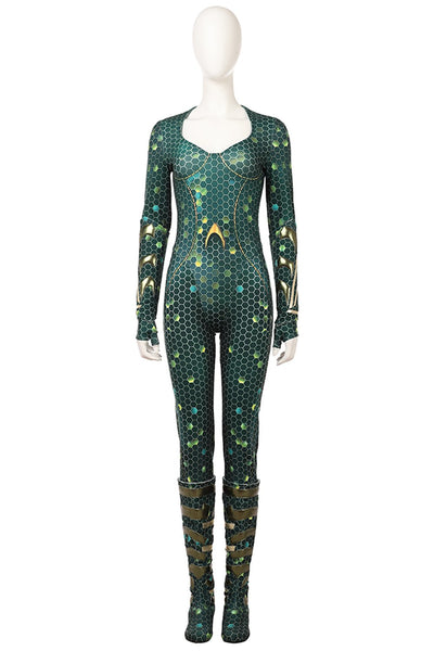 2018 Aquaman Mera Outfit Cosplay Costume
