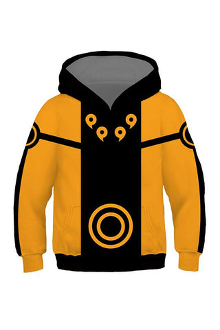 Boys Hoodie Naruto Ninja 3D Pullover Sweatshirt For Kids