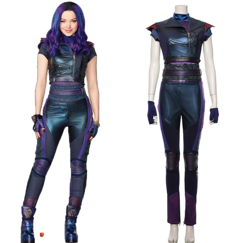 Descendants 3 Mal Dress Cosplay Costume