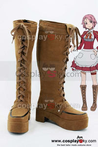 Sword Art Online Lisbeth Rika Shinozaki Cosplay Boots Shoes