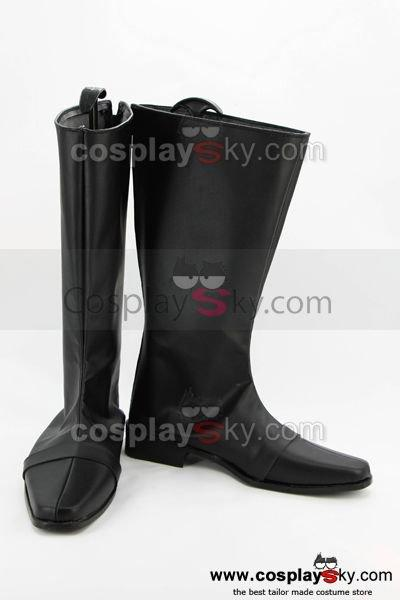 Power Ranger Cosplay Shoes Boots Custom Made Black