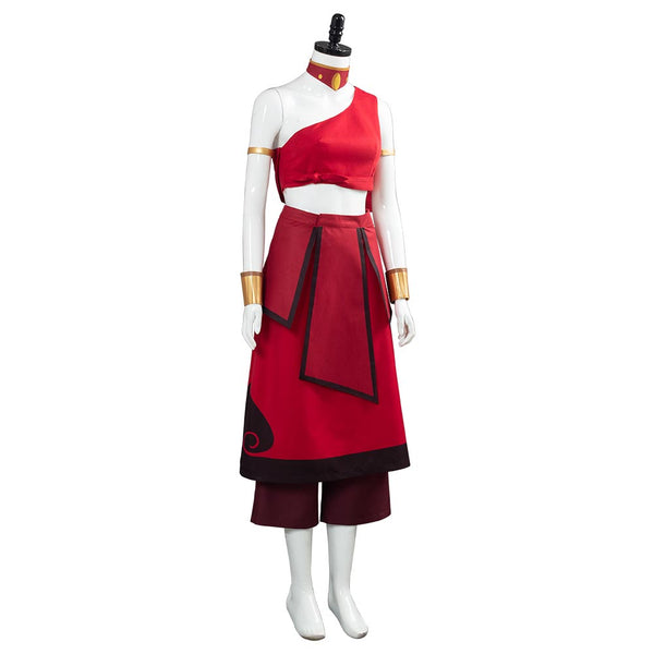 Avatar: the last Airbender Women Dress Outfit Katara Cosplay Costume  Halloween Carnival Costume