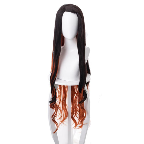 Demon Slayer: Kimetsu no Yaiba Kamado Nezuko Cosplay Wig