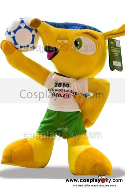 2014 The Brazilian World Cup Armordillo Plush Toy