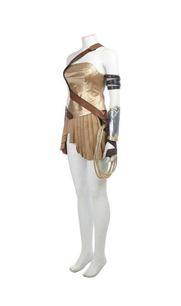 2017 Film Wonder Woman Gal Gadot Diana Dress Cosplay Costume