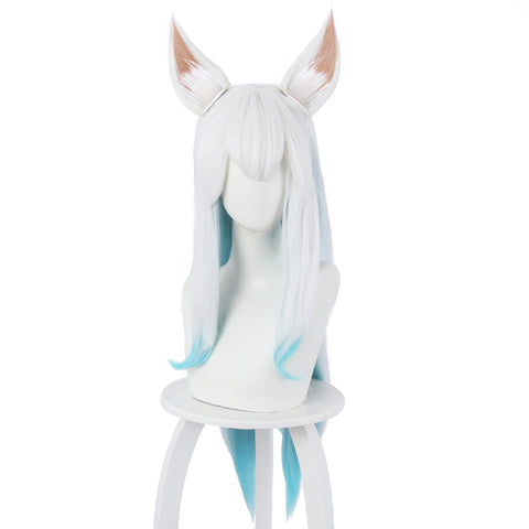 LOL Ahri the Nine-Tailed Fox Cosplay Wig with Ears