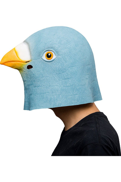 Giant Bird Mask Halloween Animal Latex Masks Full Face Mask Adult Cosplay Props