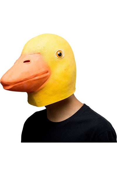 Duck Mask Halloween Animal Latex Mask Full Face Mask Adult Cosplay Props