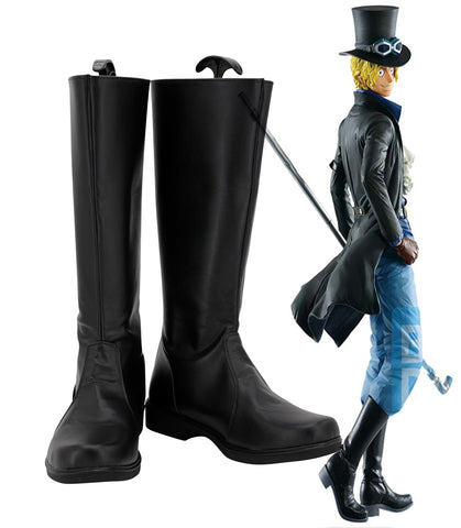 One Piece Sabo Cosplay Shoes