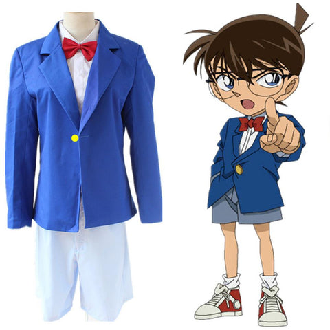 Detective Conan Case Closed Conan Edogawa Halloween Cosplay Costume