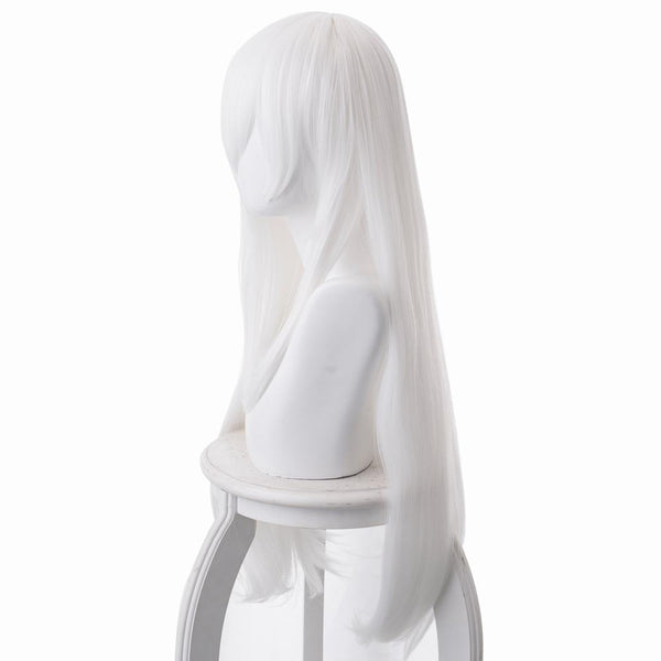 Re:Life in a different world from zero Stella Cosplay Wig White 80cm