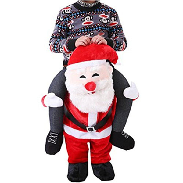 Christmas Santa Claus Pants Magic Artificial Leg Pant Cosplay Costume