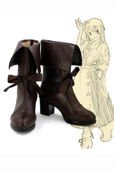Boku no Hero Academia My Hero Academia Tsuyu Boots Cosplay Shoes