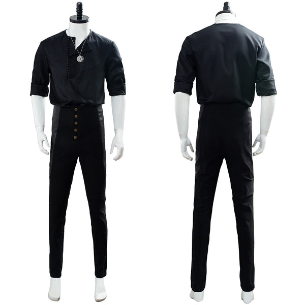 The Witcher 2019 TVGeralt of Rivia Casual Wear Cosplay Costume