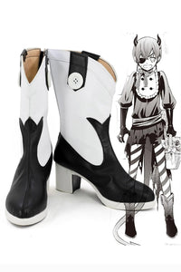 Black Butler Ciel Phantomhive Boots Cosplay Shoes