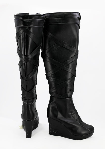Thor Ragnarok Valkyrie Cosplay Shoes Boots