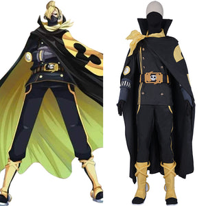 ONE PIECE Halloween Carnival Outfit Vinsmoke Family Combat Suit-Vinsmoke Sanji Cosplay Costume