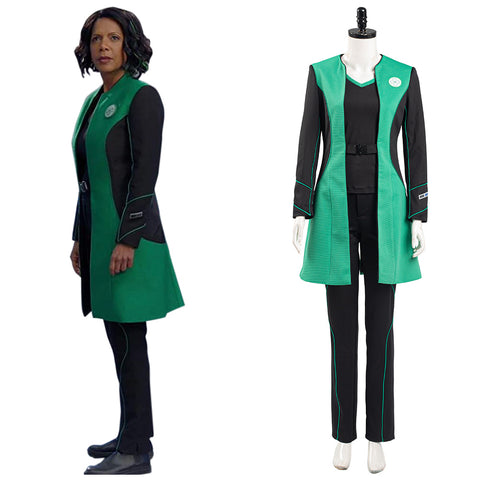 The Orville Into the Fold Halloween Carnival Suit Dr. Claire Finn Medical Officer Cosplay Costume Women Uniform Outfit