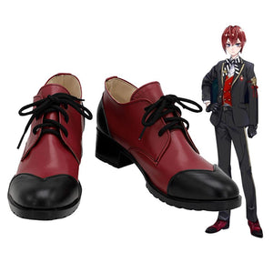 Twisted Wonderland Riddle Rosehearts Cosplay Shoes Custom Made