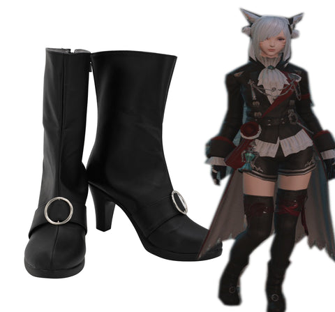 Final Fantasy Black Mage The Plague Cosplay Shoes