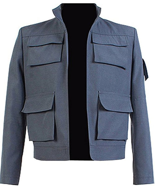 Star Wars: Empire Strikes Back Han Solo Jacket Cosplay Costume