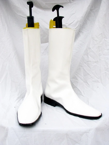 Mobile Suit Gundam Seed Cosplay Boots White