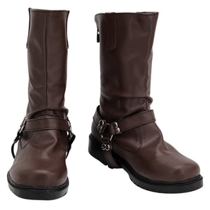 Twisted Wonderland Halloween Costume Prop Ruggie Bucchi Cosplay Shoes Boots