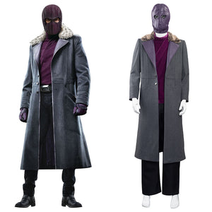 The Falcon and the Winter Soldier Halloween Carnival Suit Baron Zemo Cosplay Costumes