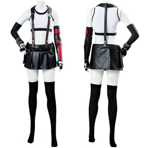 Final Fantasy VII Remake Tifa Lockhart Uniform Cosplay Costume