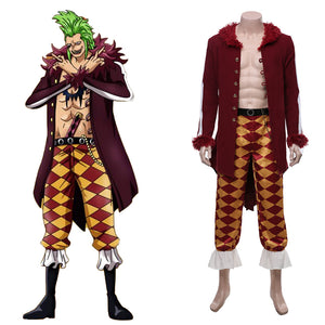 One Piece:Pirate Warriors 4 Halloween Carnival Costume Bartolomeo Cosplay Costume