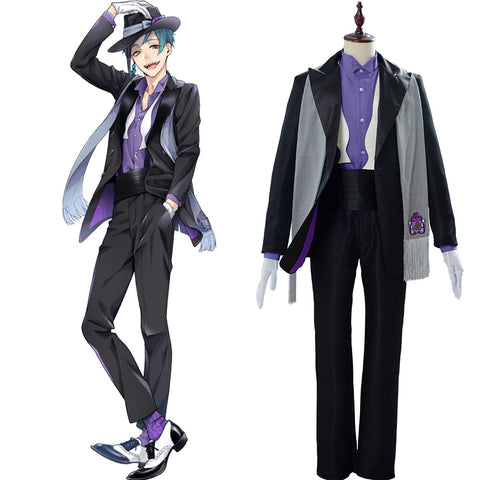 Floyd Leech Twisted Wonderland Suit Cosplay Costume