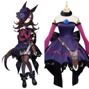 Pretty Derby Halloween Carnival Suit Rice Shower Cosplay Costume Outfits
