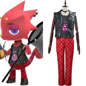 Animal Crossing  Cosplay Flick Adult Halloween Carnival Suit Outfit Cosplay Costume