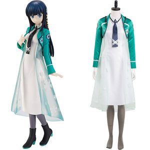 The Irregular at Magic High School Halloween Carnival Suit Shiba Miyuki Cosplay Costume Women Dress Outfits
