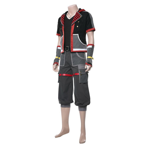 Kingdom Hearts III Sora Cosplay Costume