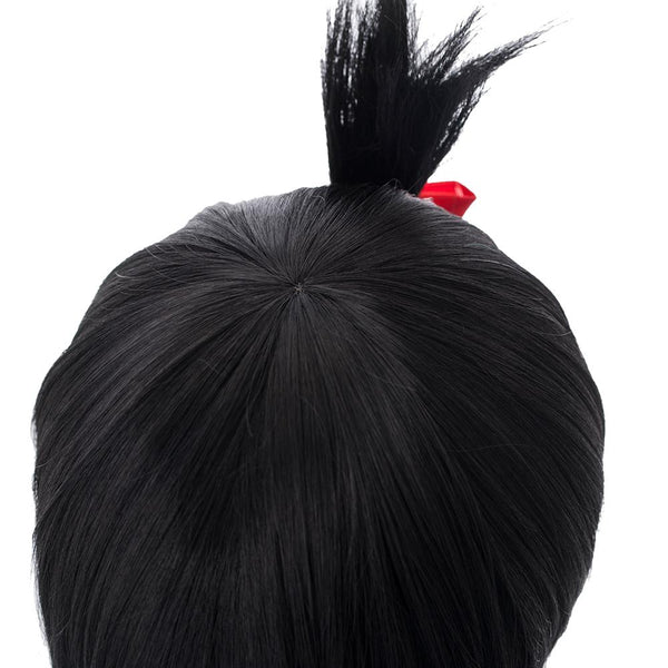 Kaguya-sama: Love Is War Shinomiya Kaguya Short Black Bun Wig