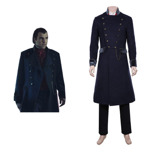 NOS4A2 Charlie Manx Cosplay Costume Halloween Carnival Costume